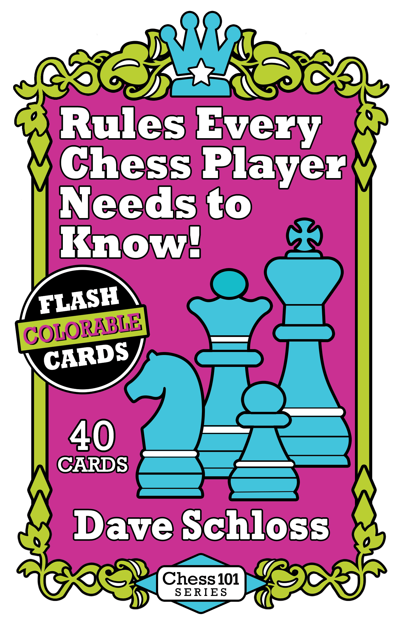 ><i>40 common USCF tournament rules every chess player needs to know</i>